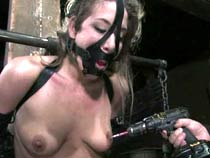 Orgasms bound in selfish hole up strap bondage